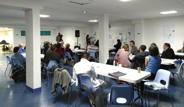 Un premier atelier participatif très animé !
