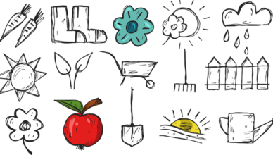 illustration dessinée de la thématique environnement et transition écologique à st cyr l'école