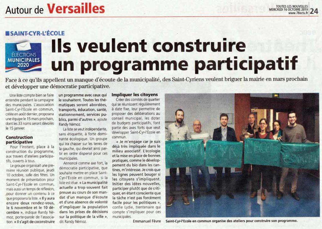 Article liste citoyenne saint cyr l'école Les.Nouvelles.de.Versailles-